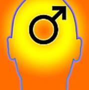 Male Symbol Art Print