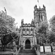 Manchester Cathedral Uk Art Print