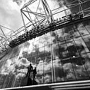 Manchester United Old Trafford Stadium Uk Art Print