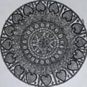 Mandal2 Art Print
