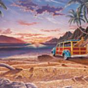 Mango Bay Art Print