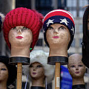 Mannequin Heads Art Print