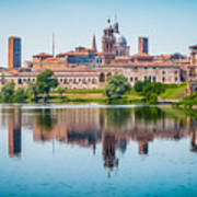Mantua Skyline Art Print