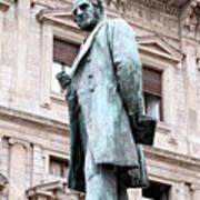Manzoni Statue Art Print