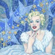 Marilyn Monroe, Old Hollywood Series Art Print