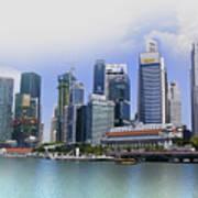 Marina Bay Singapore Art Print