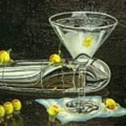 Martini Military Art Print