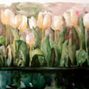 Marty's Tulips Art Print