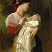 Maternal Admiration Art Print