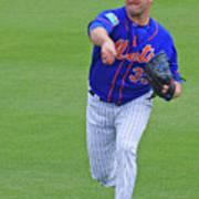 Matt Harvey New York Mets Art Print