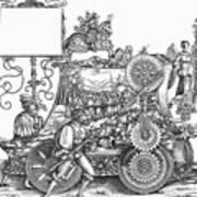 Maximilian I 1459-1519 Art Print
