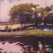 Mayo Landscape Art Print