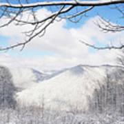 Mcguire Mountain Overlook Art Print