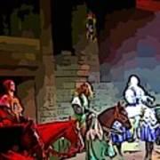 Medieval Times Dinner Theatre In Las Vegas Art Print