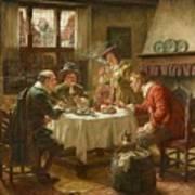 Merry Company In A Dutch Interior Art Print