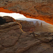 Mesa Arch Sunrise - D003097 Art Print