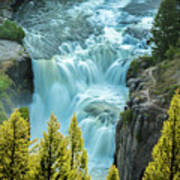 Mesa Falls - Yellowstone Art Print
