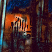Message 3 Art Print