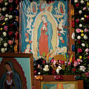 Mexico Our Lady Of Guadalupe Pilgrimage Art Print