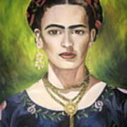 Mi Bella Frida Art Print