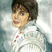 Michael Jackson - Captain Eo Art Print