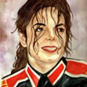 Michael Jackson - You Are My Life Art Print