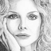 Michelle Pfeiffer Art Print