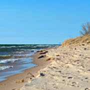 Michigan Beach Art Print