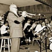 Mike Vax Professional Trumpet Player Photographic Print 3772.02 Art Print