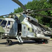 Mil Mi-17 Hip Art Print