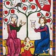 Minnesinger Lieder Art Print