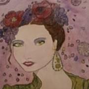 Miss Flore  Art Print