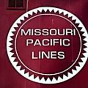 Missouri Pacific Lines Art Print