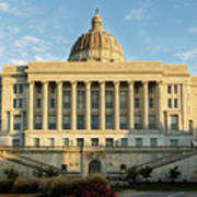 Missouri State Capital Art Print