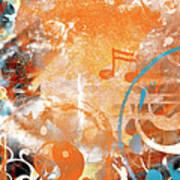 Modern Art Beyond Control Art Print