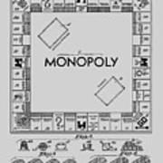 Monopoly Patent 1935 Art Print