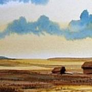 Montana Landscape Art Print