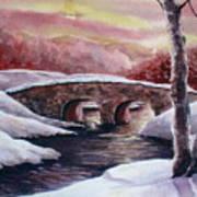 Moonlight Crossing Art Print