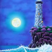 Moonlight Vigil Art Print