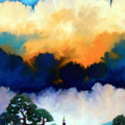 Morning In The Hill Country Art Print