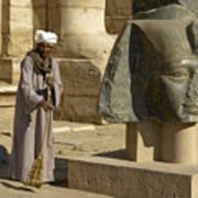 Mortuary Temple Of Rameses II Art Print