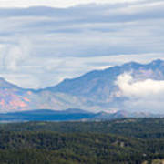 Mosquito Range Mountains In Storm Clouds Art Print