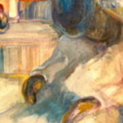Mr Hunters Porch Art Print