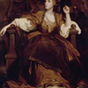 Mrs. Siddons As The Tragic Muse Art Print