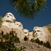 Mt Rushmore II Art Print