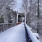 Munger Trail Bridge Art Print