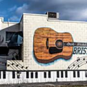 Mural - Downtown Bristol Tennessee/virginia Art Print