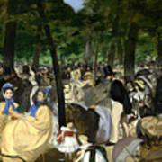 Music In The Tuileries Art Print