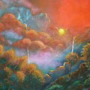 Mystic Sunrise Art Print