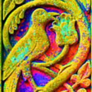 Mythical Bird. Art Print